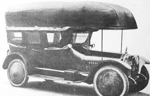 Gas bag car 1918 bis