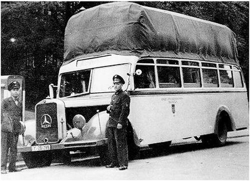 Gas bag bus 14