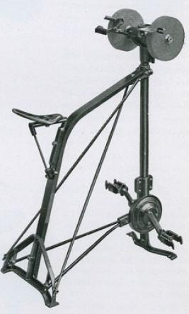 Stupendous The Short History Of Early Pedal Powered Machines Low Tech Machost Co Dining Chair Design Ideas Machostcouk