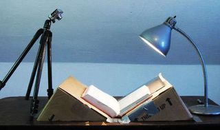 Diy book scanner