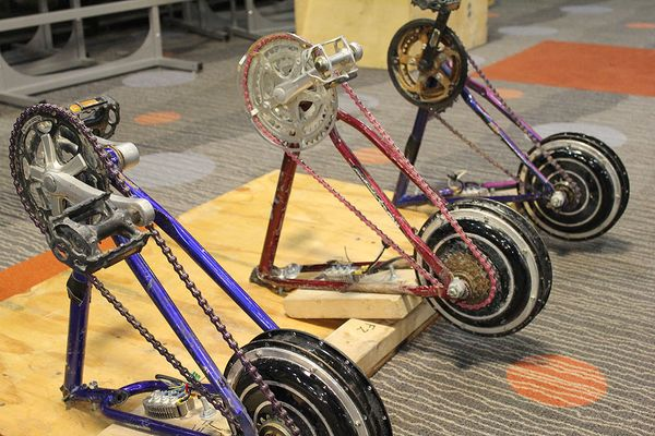 Pedal Powered Farms And Factories The Forgotten Future Of