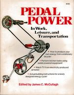 Pedal Power in Work, Leisure and Transportation