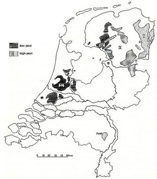 The dutch peat reserves