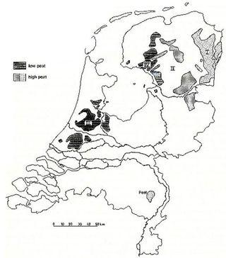 Turfgebieden in nederland