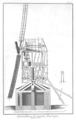 Windmolen tekening