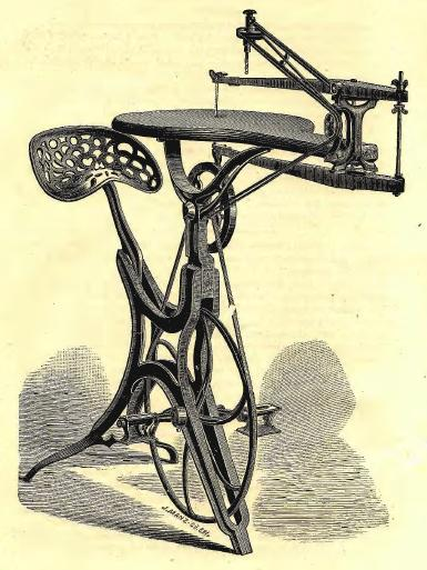 Pleasing The Short History Of Early Pedal Powered Machines Low Tech Machost Co Dining Chair Design Ideas Machostcouk