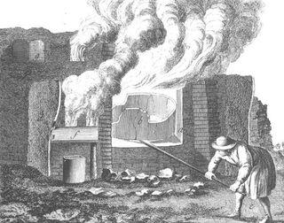 Glasproductie in de middeleeuwen