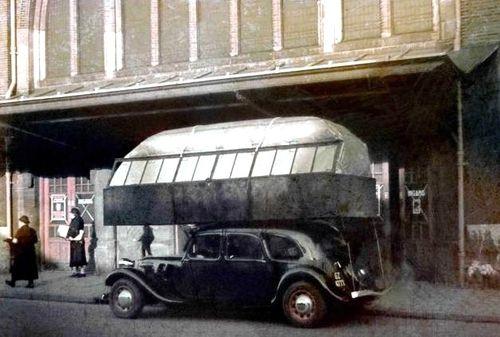 Gas bag vehicle France
