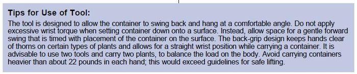 Lifting tool 4