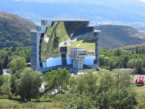 Solar furnace france