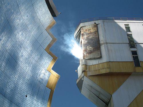 Solar furnace uzbeskistan