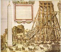 Human powered cranes and lifting devices