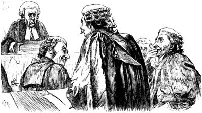 In de rechtbank