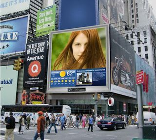 Digitale billboards clear channel