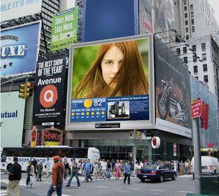 Digitale billboards clear channel
