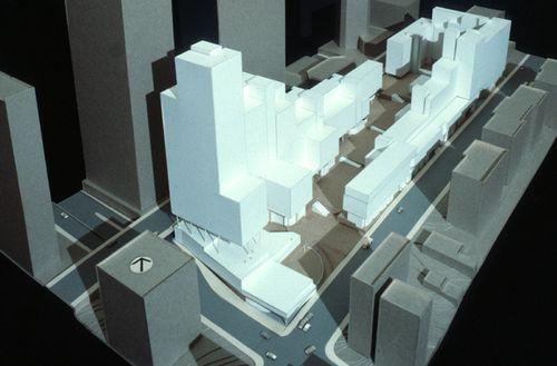 Buildings within solar envelope bunker hill