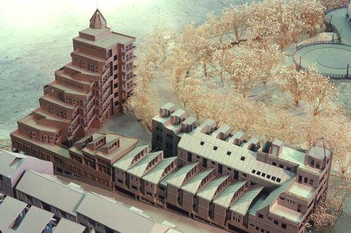 Solar envelope high density housing 2