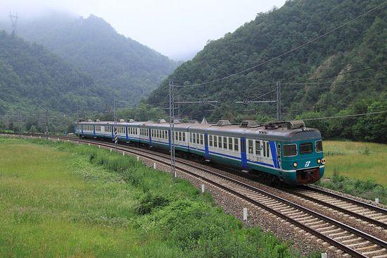 Italiaanse trein