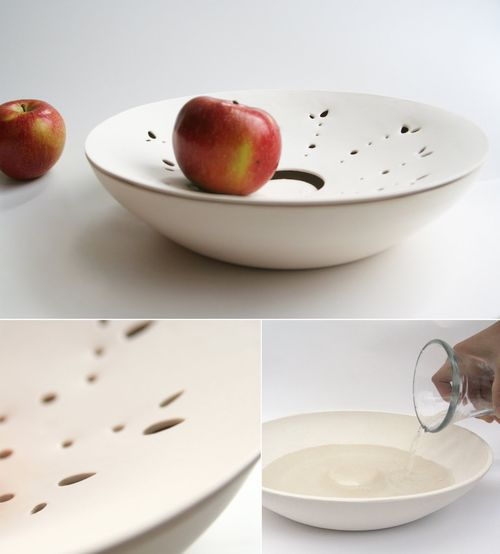 Food storage fruit bowl