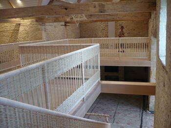 Basketry balustrade
