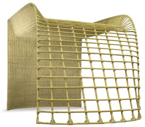 Basketry bed