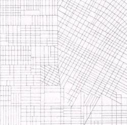 Los angeles street grid