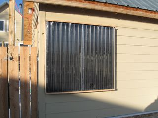 Solar heated shed 2