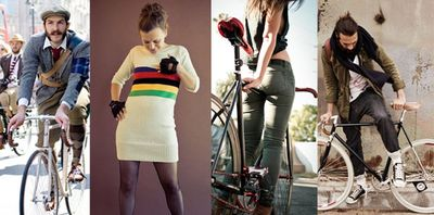 Sexy fietskleding