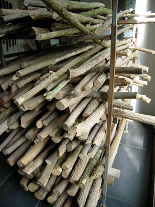 Fujara drogen van hout