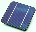 Solar cell embodied energy