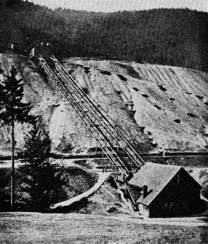Stangenkunst in lautental 1932