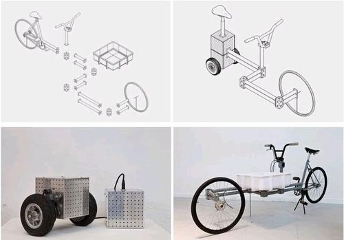 Open source hardware make your own cargo cycle