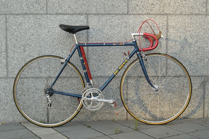 Classic italian racing bicycle