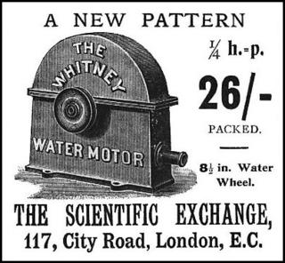 Water motor 1