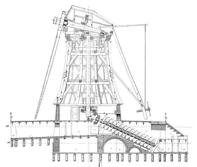 Building plans dutch pumping windmill