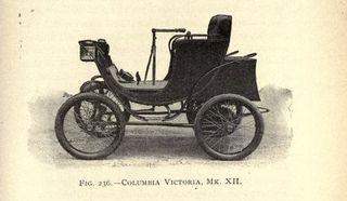Elektrische auto columbia victoria