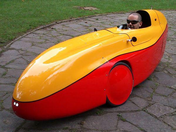 elektrische velomobiel tachtig keer zuiniger dan elektrische auto.