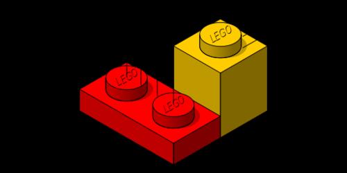 Afmetingen lego bouwstenen