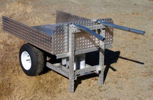 Grid beam wheelbarrow
