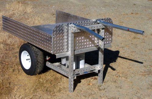 Grid beam wheelbarrow