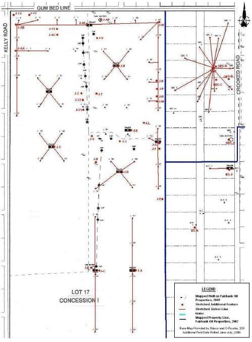 James field inventory map jerker line systems