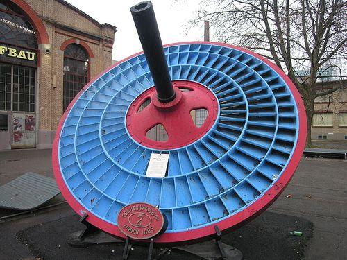 Jonval turbine water under pressure switzerland