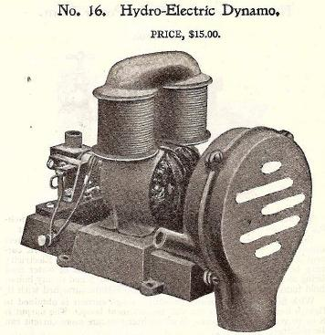 Hydro electric dynamo