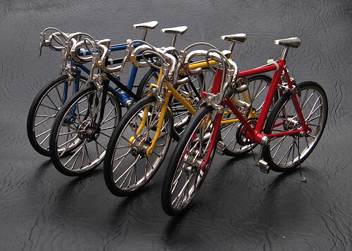 Scale Models of Bicycles - LOW-TECH MAGAZINE