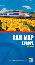 Thomas cook rail map europe