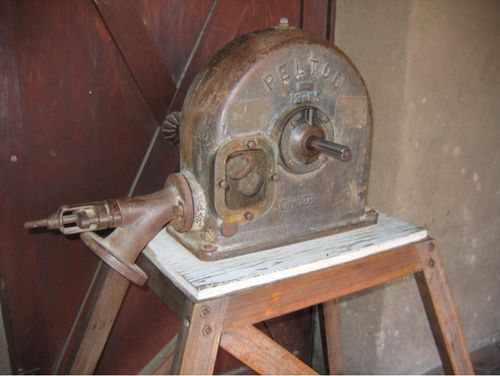 Pelton watermotor