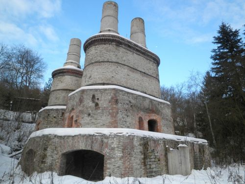 Lime kiln in prague