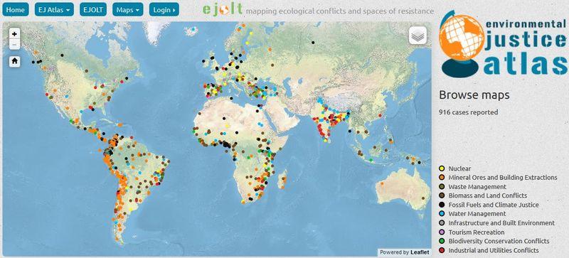 Atlas milieuconflicten