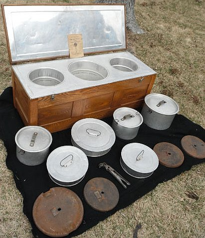 Fireless cooker with attributes