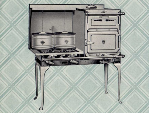 Chambers fireless cooking gas range